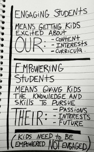 engage vs empower