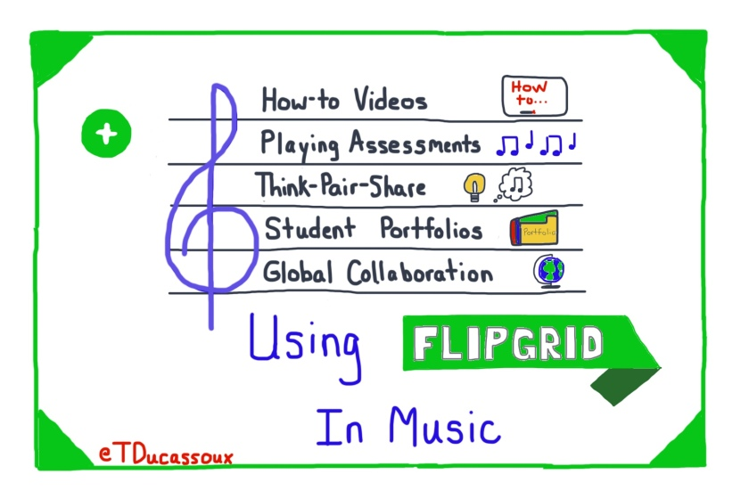 Using Flipgrid in Instrumental Music