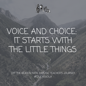 Voice and Choice